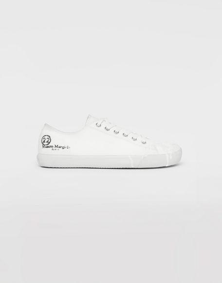 MAISON MARGIELA Tabi paint drop sneakers Sneakers Tabi Man f