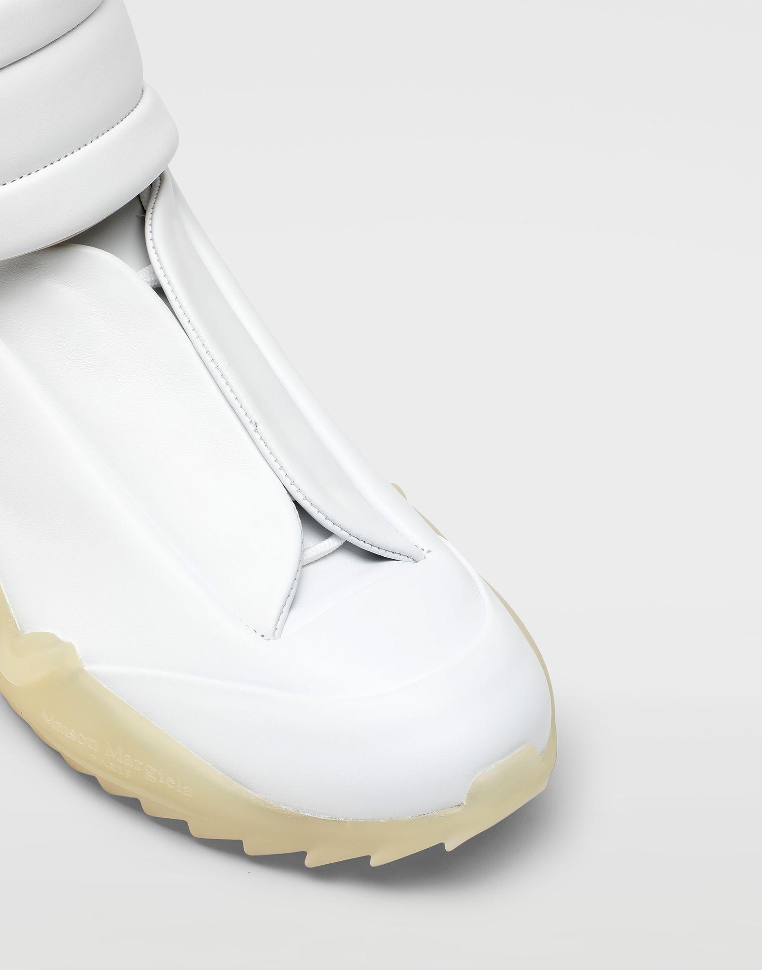 MAISON MARGIELA Zapatillas Future de piel y caña alta Zapatillas Hombre a