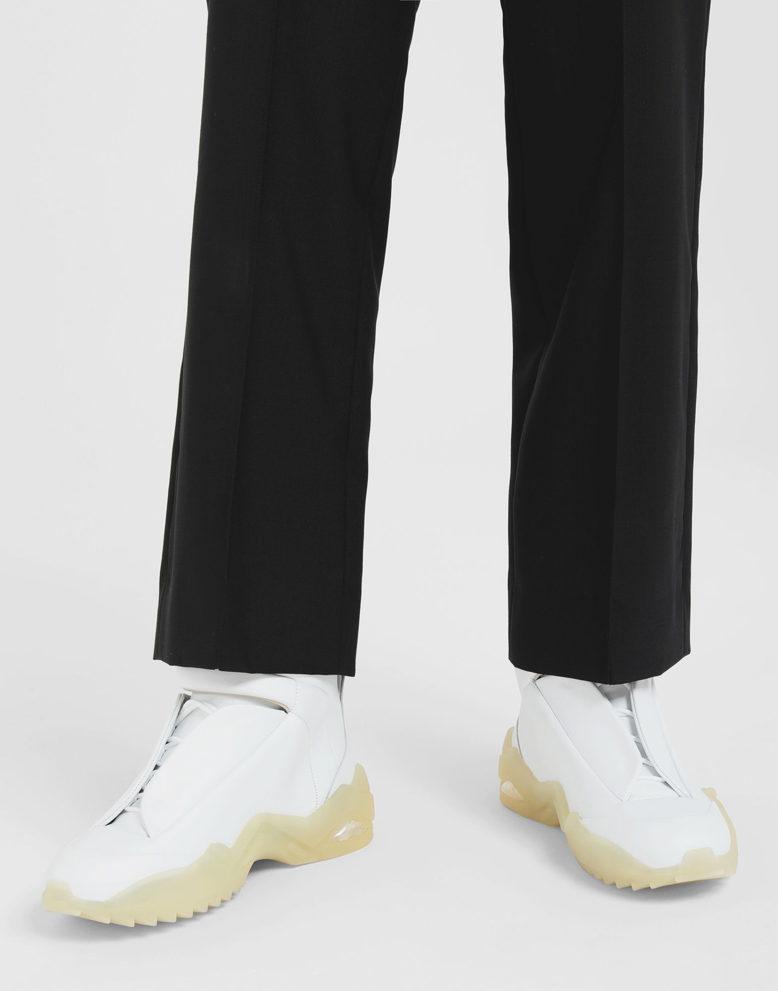MAISON MARGIELA Future high-top leather sneakers Sneakers Man r