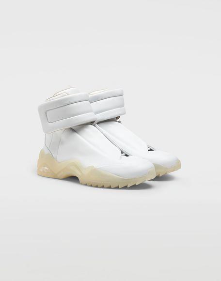 MAISON MARGIELA Zapatillas Future de piel y caña alta Zapatillas Hombre d