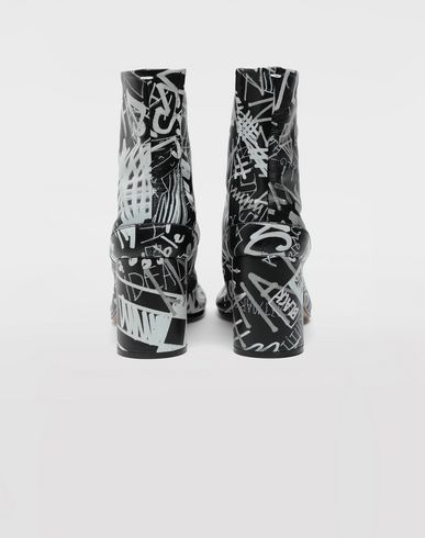 CHAUSSURES Bottines Tabi Graffiti Noir