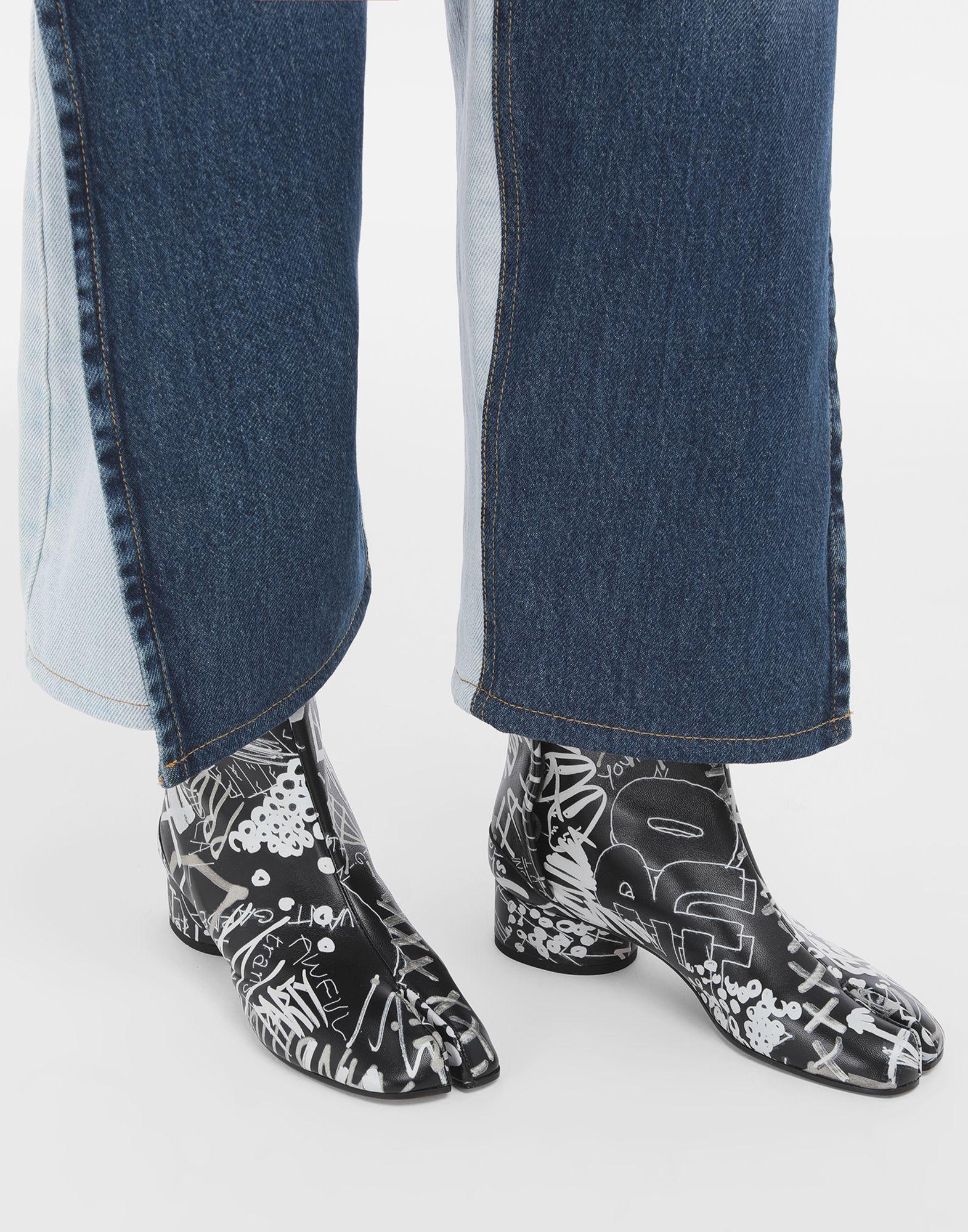 MAISON MARGIELA Graffiti Tabi boots Tabi boots & Ankle boots Woman r