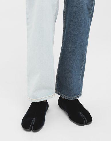 MAISON MARGIELA Moccasins Woman Tabi velvet slippers r