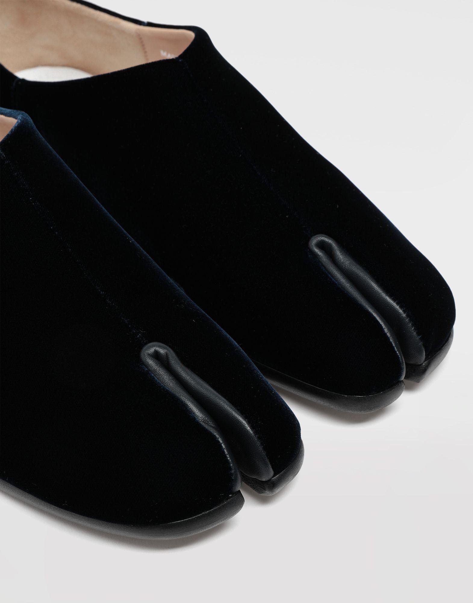 MAISON MARGIELA Tabi velvet slippers Moccasins Woman a