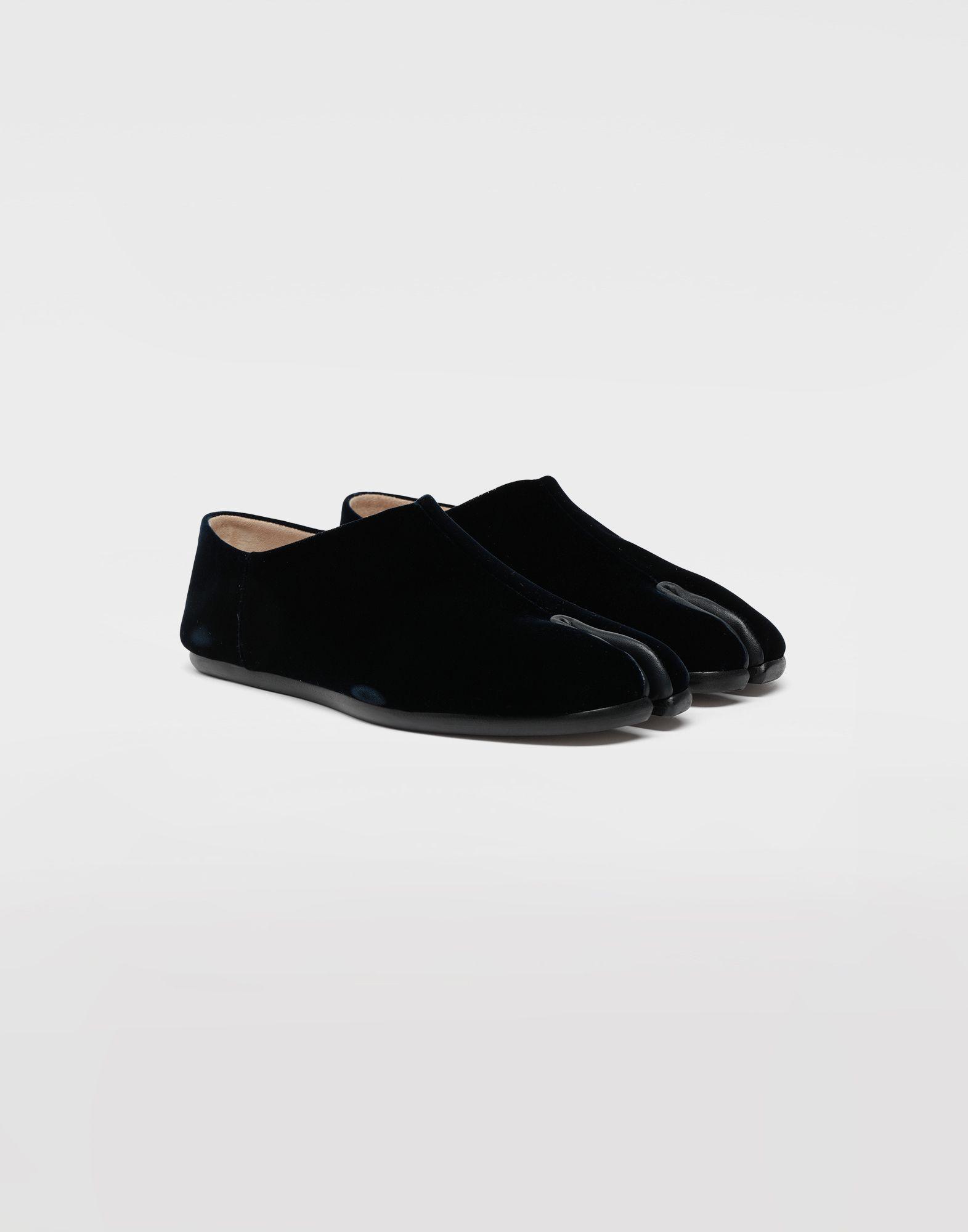 MAISON MARGIELA Tabi velvet slippers Moccasins Woman d
