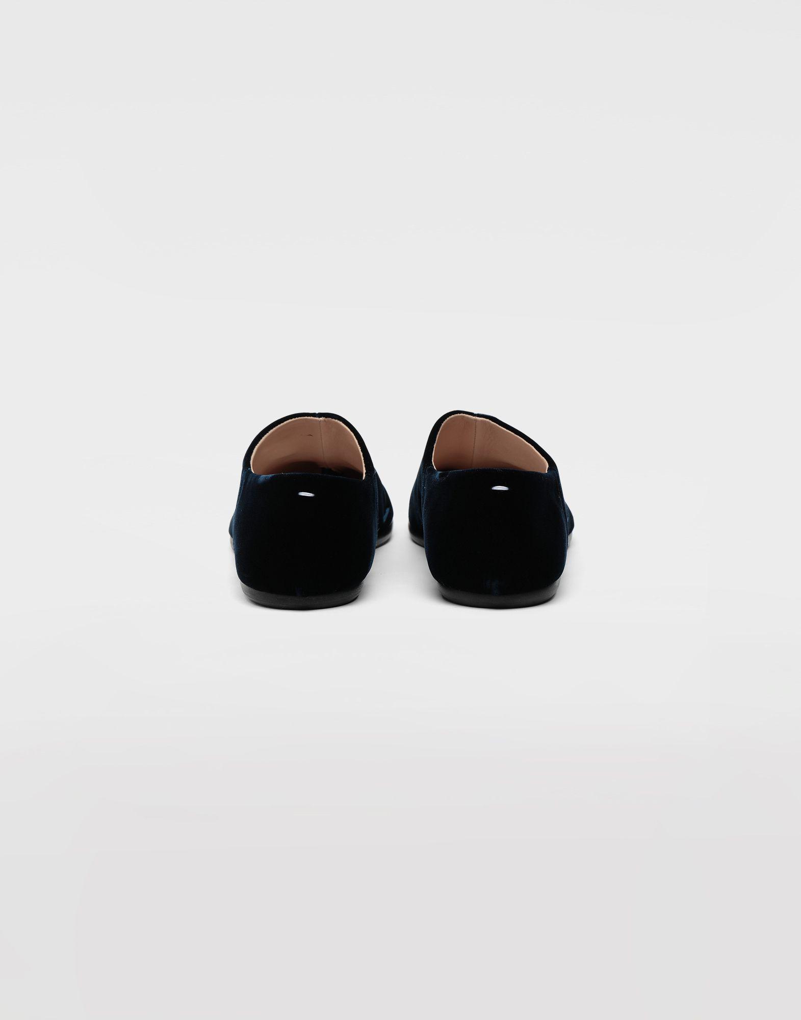 MAISON MARGIELA Tabi velvet slippers Moccasins Woman e