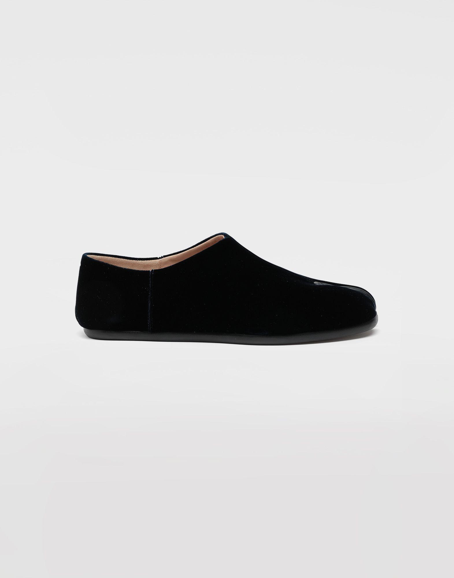 MAISON MARGIELA Tabi velvet slippers Moccasins Woman f