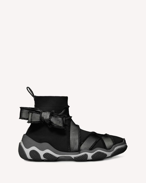 REDValentino GLAM RUN ULTRA BLACK SNEAKER