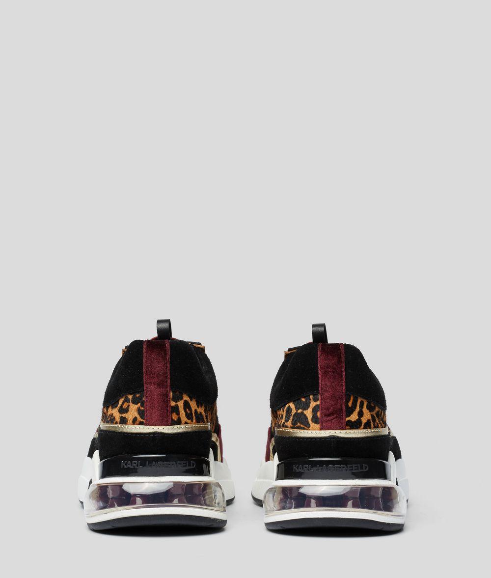 KARL LAGERFELD Ventura Lazare Leopard Runner Sneakers Woman d