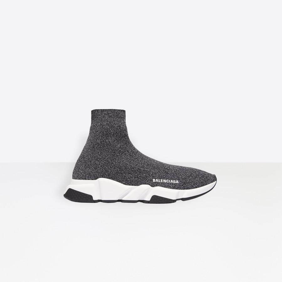 Speed Sneaker Black for Men | Balenciaga