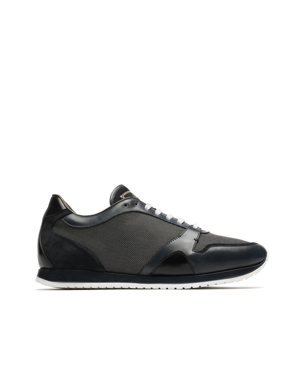 BRIONI Blue Running Sneakers Sneakers Man f