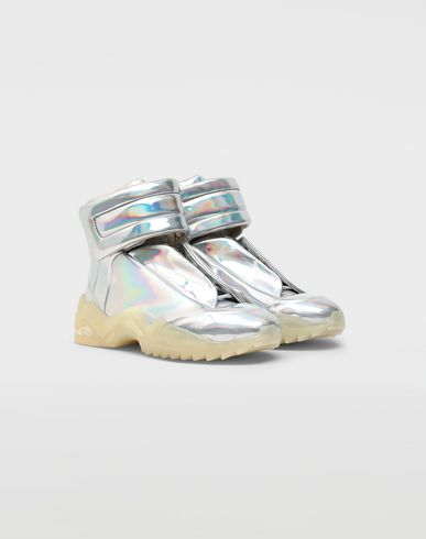 SHOES Future high-top sneakers Silver