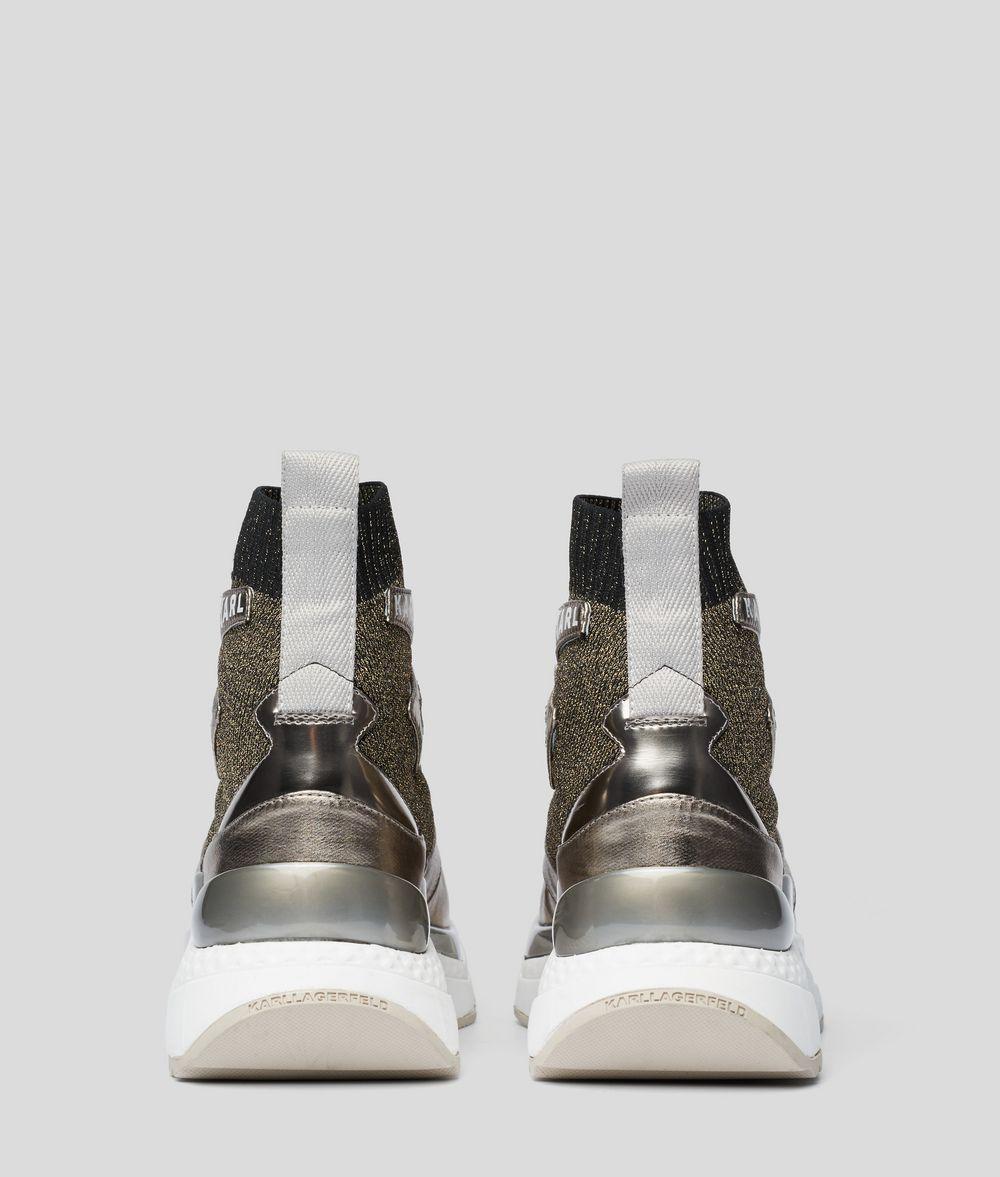 KARL LAGERFELD Aventur Siege Boot Sneakers Woman d