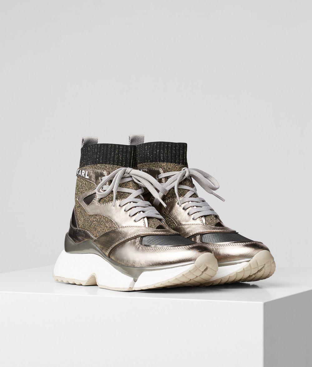KARL LAGERFELD Aventur Siege Boot Sneakers Woman f