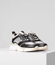 KARL LAGERFELD Aventur Lux Leather Runner Sneakers Woman f