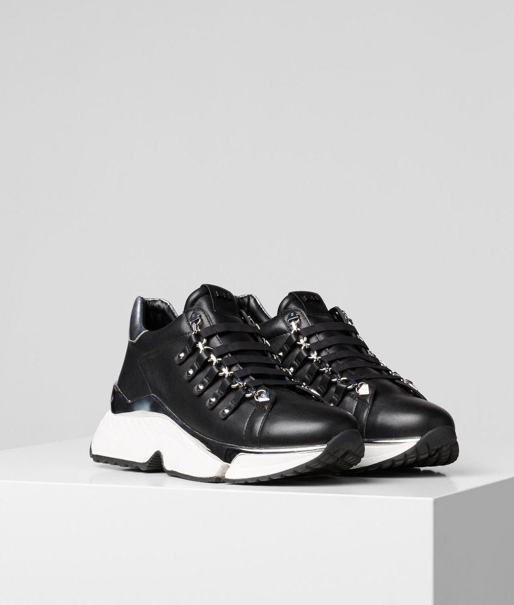 KARL LAGERFELD Aventur Chain Runner Sneakers Woman f