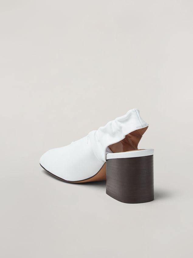 Marni Stretch pump in soft nappa leather Woman - 3