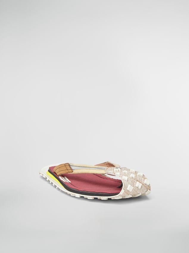 Marni Sandal in nylon and suede Man - 2