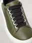 Marni BANANA Marni sneaker in leather green and white Woman - 5