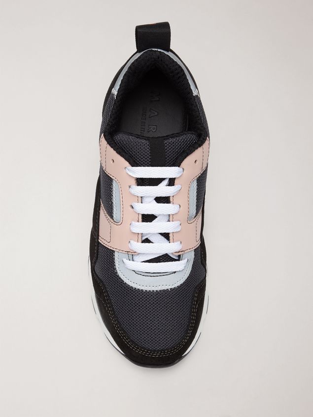 Marni Sneaker in techno fabric pink grey and black Woman - 4