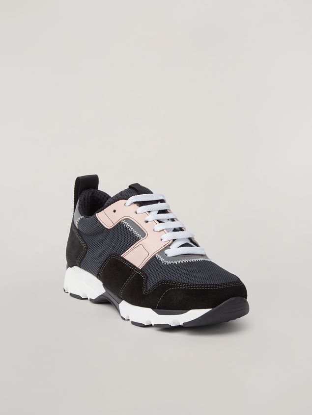 Marni Sneaker in techno fabric pink grey and black Woman - 2