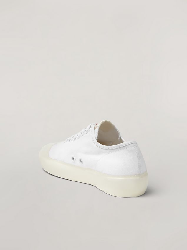 Marni Low-top sneaker in canvas and rubber Woman