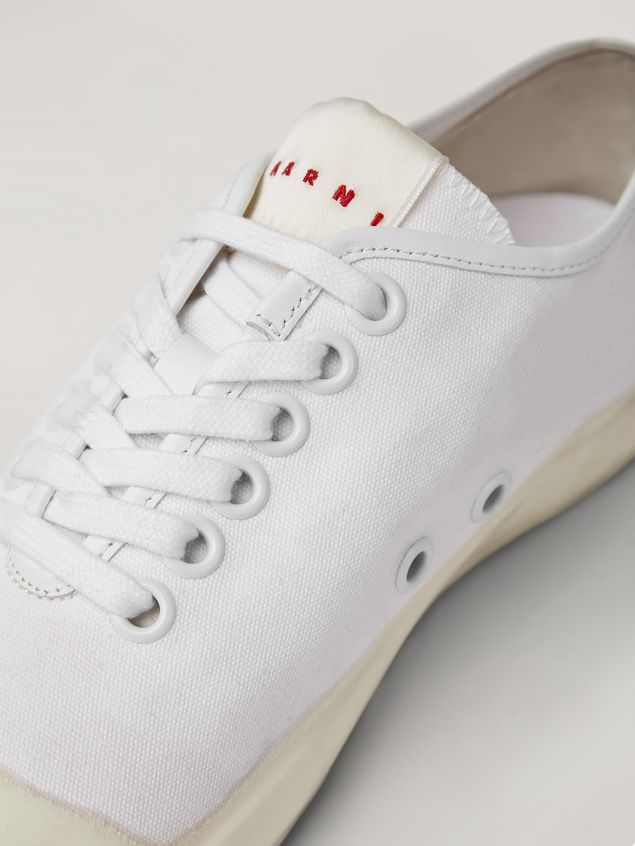 Marni Low-top sneaker in canvas and rubber Woman - 5