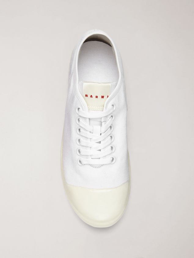 Marni Low-top sneaker in canvas and rubber Woman - 4