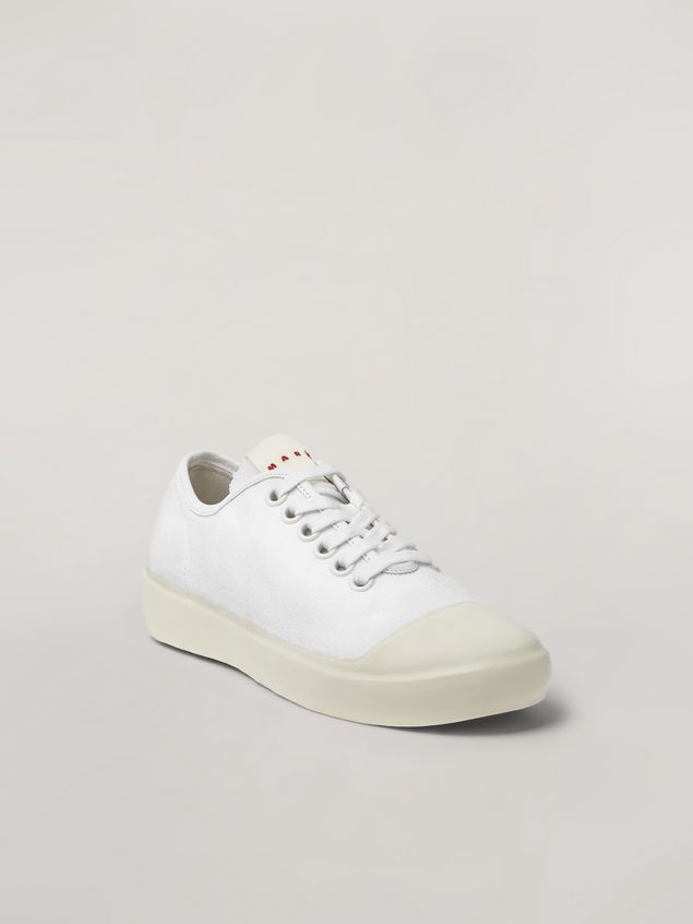 Marni Low-top sneaker in canvas and rubber Woman - 2