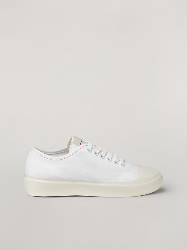 Marni Low-top sneaker in canvas and rubber Woman - 1
