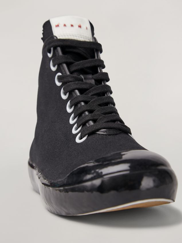 Marni High-top sneaker in canvas and rubber Woman - 5