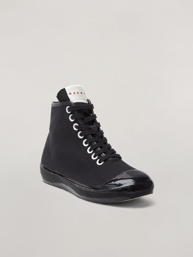 Marni High-top sneaker in canvas and rubber Woman - 2