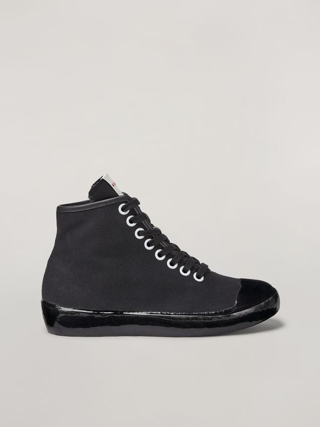 Marni High-top sneaker in canvas and rubber Woman - 1