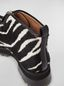 Marni WANDERING IN STRIPES zip bootie in calf leather hair effect Woman - 5