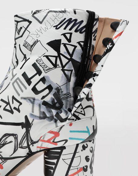 MAISON MARGIELA Stivaletti Tabi Graffiti Stivali Tabi e Stivaletti Donna b