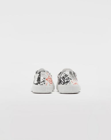 SHOES Graffiti Tabi sneakers White