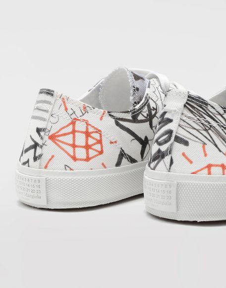 MAISON MARGIELA Graffiti Tabi sneakers Sneakers Tabi Woman b