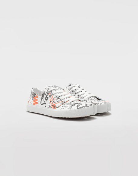 MAISON MARGIELA Graffiti Tabi sneakers Sneakers Tabi Woman d