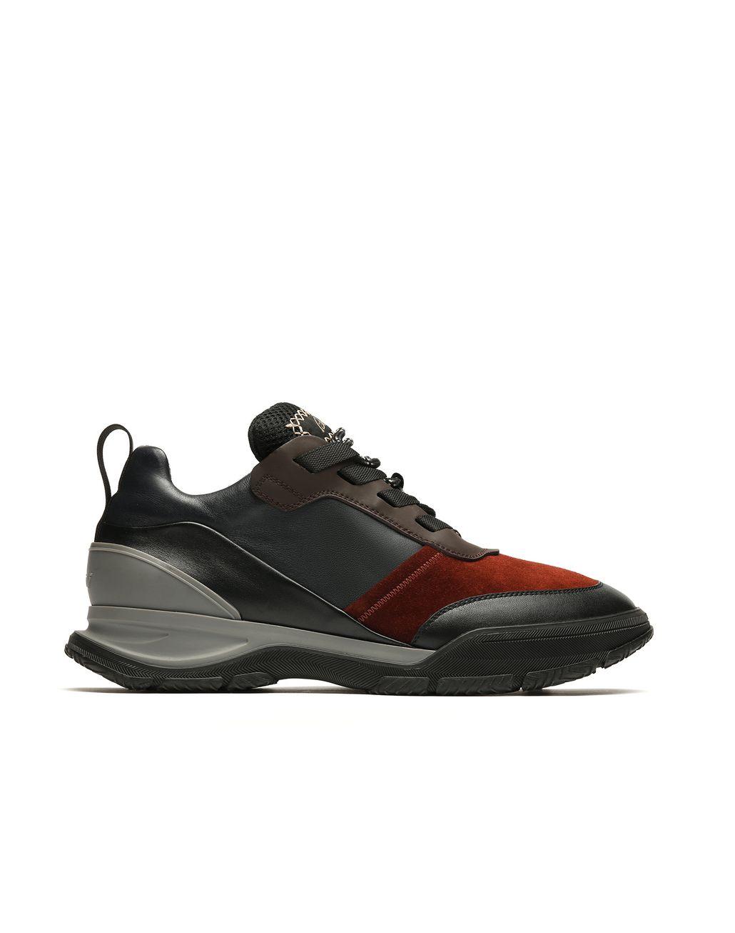 BRIONI Schwarze Sneakers Sneaker Herren f