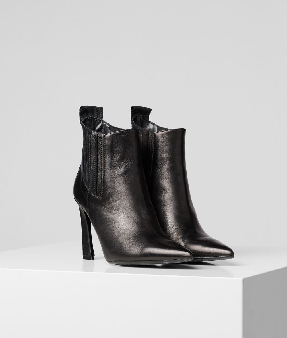 KARL LAGERFELD Veneto Ankle Boot Boots Woman f