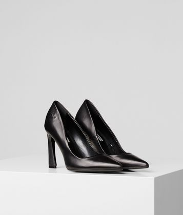 KARL LAGERFELD VENETO COURT HIGH HEEL PUMPS