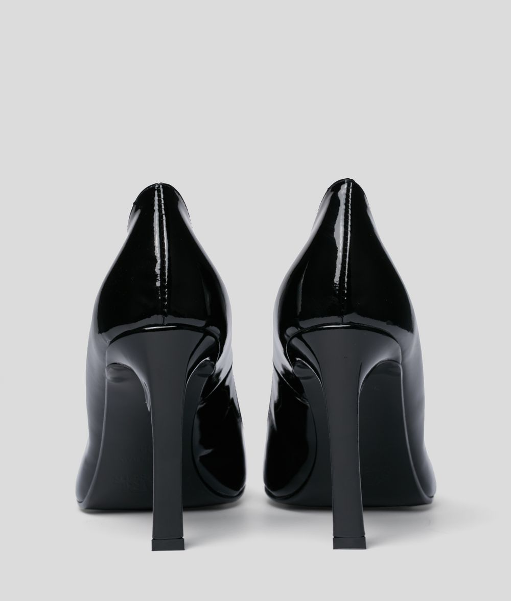 KARL LAGERFELD Veneto Court Strap Heel Pumps Woman d