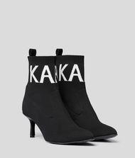 KARL LAGERFELD Pandora Knit Cuff Boot 9_f