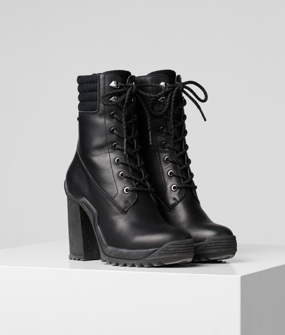 KARL LAGERFELD Voyage III Ankle Lace Boot Boots Woman f