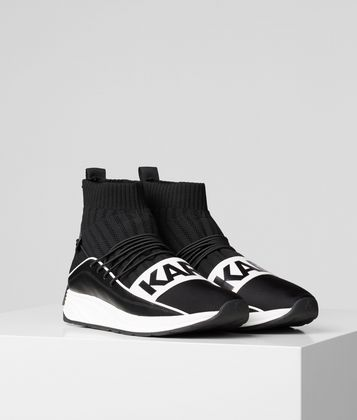 KARL LAGERFELD VEKTOR KARL BAND HI KNIT TRAINER