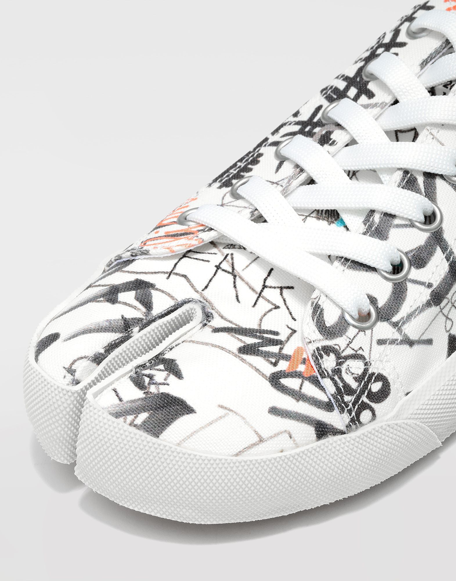 MAISON MARGIELA Graffiti Tabi sneakers Sneakers Man a
