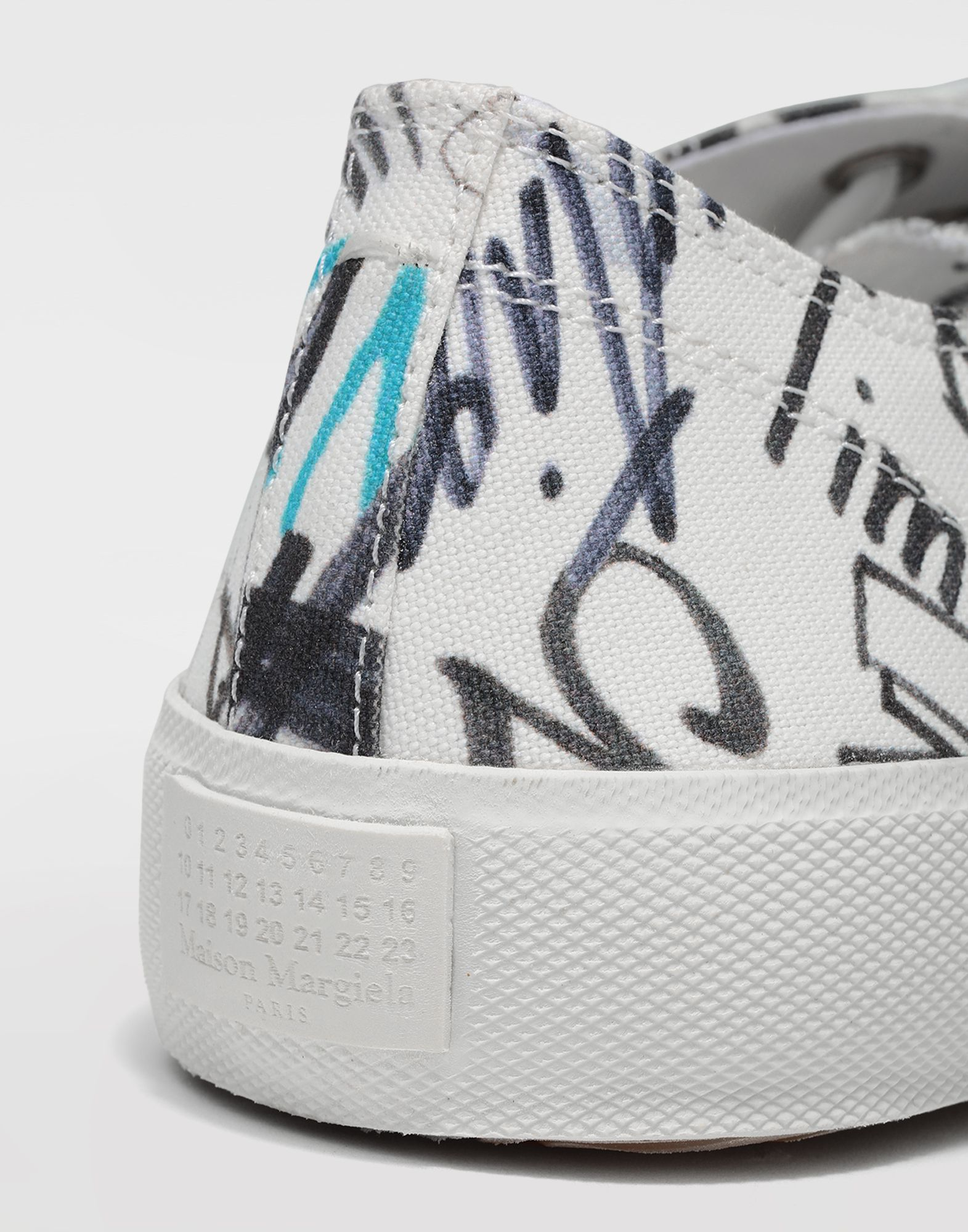 MAISON MARGIELA Graffiti Tabi sneakers Sneakers Man b