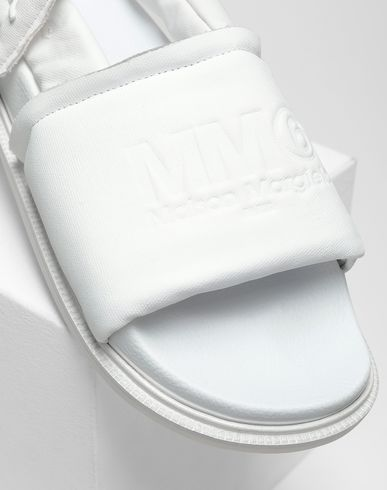SHOES Padded sandals White