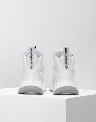 SHOES High-top padded runners White