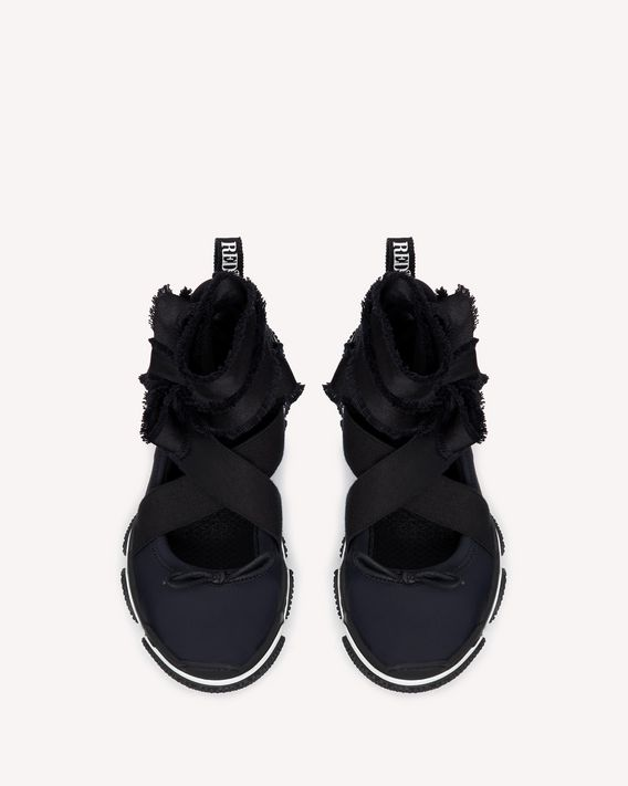 REDValentino RED BALLET ULTRA BLACK SNEAKER
